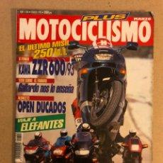Coches y Motocicletas: MOTOCICLISMO N° 1306 (1993). KAWA ZZR 600, HONDA CBR 1000 F, KAWA ZZR 1100, YAMAHA GTS 1000, BMW K-1. Lote 160314350