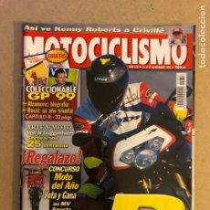 Coches y Motocicletas: MOTOCICLISMO N° 1657 (1999). APRILIA RSV 1000 R, BIOGRAFÍA: ALZAMORA, ROSSI, CRIVILLÉ,.... Lote 160432850
