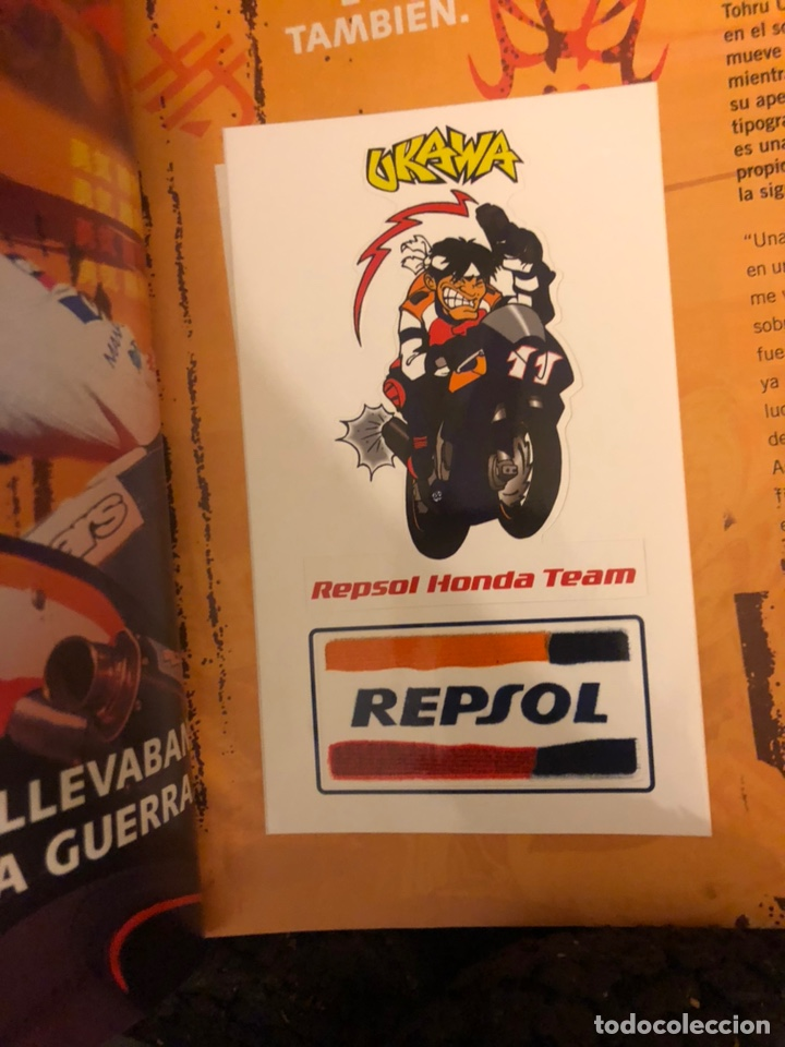 Coches y Motocicletas: MOTOCICLISMO N° 1792 (2002). PEGATINA UKAWA, COMPARATIVA (BMW K 1200 RS, HONDA CBR 1100 XX, KAWA ZZ- - Foto 2 - 160433220