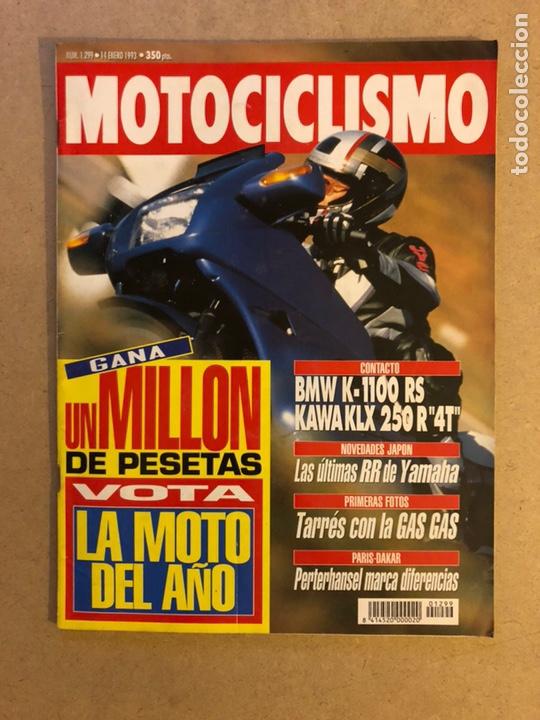 MOTOCICLISMO 1299 (1993). BMW K-1100 RS, KAWA KLX 250 R4T,... (Coches y Motocicletas - Revistas de Motos y Motocicletas)