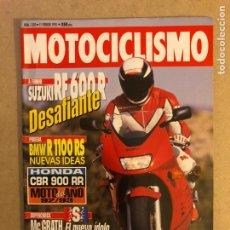 Coches y Motocicletas: MOTOCICLISMO N° 1303 (1993). SUZUKI RF 600 R, BMW R 1100 RS, HONDA CBR 900 RR,... Lote 160433340