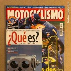 Coches y Motocicletas: MOTOCICLISMO N° 1714 (2000). SUZUKI RGV 500, HONDA NSR 500 CRIVILLÉ, PARIS DAKAR,.... Lote 160433388