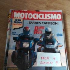 Coches y Motocicletas: REVISTA MOTOCICLISMO 1175 * BMW K 100 LT + HONDA ST 1100 + SUZUKI GN 250 + APRILIA RX 125 * 58. Lote 160464218