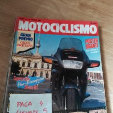Coches y Motocicletas - revista motociclismo 1172 * honda pan - european + comprativa trail 125 * 58 - 160465862