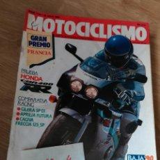 Coches y Motocicletas - motociclismo 1170 * honda cbr 400 rr + gilera sp 01 + aprilia futura + cagiva freccia 125 sp * 58 - 160467038
