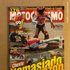Coches y Motocicletas: MOTOCICLISMO N° 1648 (1999). G.P. VALENCIA CRIVILLÉ, ALZAMORA, CAGIVA V-RAPTOR,.... Lote 160541426