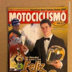 Coches y Motocicletas: MOTOCICLISMO N° 1662 (2000). ÀLEX CRIVILLÉ, COMPARATIVA (DEPORTIVAS/SPORT TURISMO/ ENDURO),.... Lote 160541669