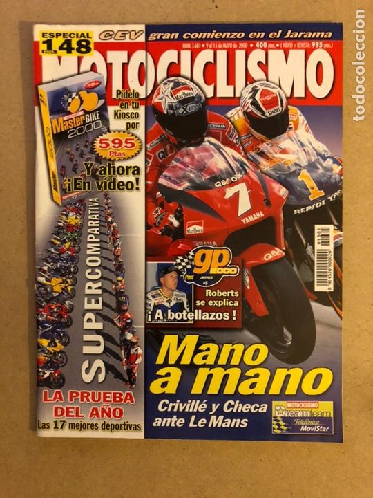 MOTOCICLISMO N° 1681 (2000). CRIVILLÉ VS CHECA, COMPARATIVA MEJORES 17 DEPORTIVAS,... (Coches y Motocicletas - Revistas de Motos y Motocicletas)