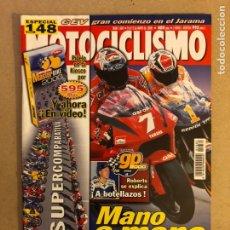 Coches y Motocicletas: MOTOCICLISMO N° 1681 (2000). CRIVILLÉ VS CHECA, COMPARATIVA MEJORES 17 DEPORTIVAS,.... Lote 160543109