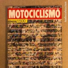 Coches y Motocicletas: MOTOCICLISMO N° 1500 (1996). NÚMERO ESPECIAL 1500. 204 PÁGINAS.. Lote 160543576