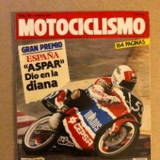 Coches y Motocicletas: MOTOCICLISMO N° 1159 (1990). G.P. ESPAÑA ASPAR, HONDA NX 650 DOMINATOR VS YAMAHA XT 600 E,.... Lote 160547189