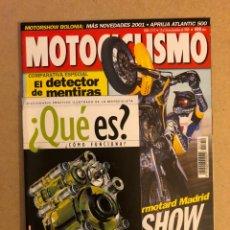 Coches y Motocicletas: MOTOCICLISMO N° 1712 (2000). FASCÍCULO DICCIONARIO MOTOCICLETA, COMPARATIVA DEPORTIVAS (KAWA, HONDA,. Lote 173149928