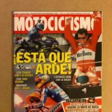 Coches y Motocicletas: MOTOCICLISMO N° 1843 (2003). COMPARATIVA NAKED (HONDA HORNET 600, SUZUKI BANDIT 600, TRIUMPH SPEED F. Lote 160603236