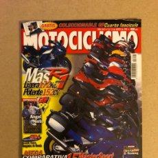 Coches y Motocicletas: MOTOCICLISMO N° 1642 (1999). YAMAHA R1, ÁNGEL NIETO, COLECCIONABLE GP N°4, COMPARATIVA 15 MÁSTER SPO. Lote 160603965