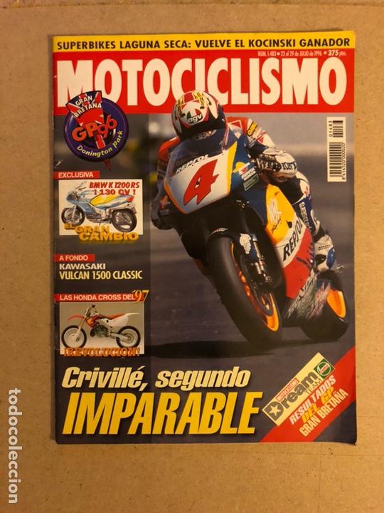MOTOCICLISMO N° 1644 (1999). COLECCIONABLE GP N°6, CRIVILLÉ Y ALZAMORA, ESPECIAL OFFROAD (Coches y Motocicletas - Revistas de Motos y Motocicletas)