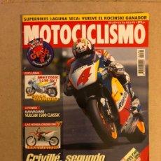 Coches y Motocicletas: MOTOCICLISMO N° 1644 (1999). COLECCIONABLE GP N°6, CRIVILLÉ Y ALZAMORA, ESPECIAL OFFROAD. Lote 160604421