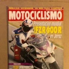 Coches y Motocicletas: MOTOCICLISMO N° 1346 (1993). YAMAHA FZR 600 R, YAMAHA TT 600, YZF SPORTPRODUCCION Y CBR 600 SUPERSPO. Lote 160648669