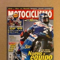 Coches y Motocicletas: MOTOCICLISMO N° 1658 (1999). COLECCIONABLE GP '99 CAPÍTULO 4, DUCATI 748 E, HONDA CNR 600 EVORR, SUZ. Lote 160648948