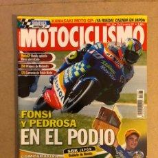 Coches y Motocicletas: MOTOCICLISMO N° 1783 (2002). APRILIA RSV MILLE R, DUCATI 998 S, HONDA VTR 1000 SP2, HARLEY DAVIDSON. Lote 160649117