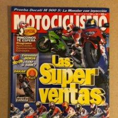Coches y Motocicletas: MOTOCICLISMO N° 1664 (2000). DUCATI MONSTER 900 SIE, HONDA, YAMAHA, KAWASAKI, TRIUMPH,.... Lote 160649566