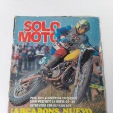 Coches y Motocicletas: REVISTA SOLO MOTO. AÑO 1980 N°. 253. Lote 160725794