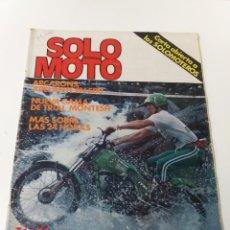 Coches y Motocicletas: REVISTA SOLO MOTO AÑO1980. NUM. 247. Lote 160726098