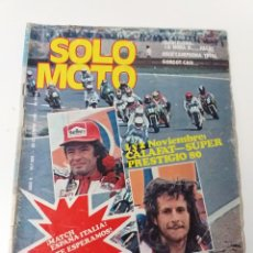 Coches y Motocicletas: REVISTA SOLO MOTO AÑO 1980 N°. 259. Lote 160726738