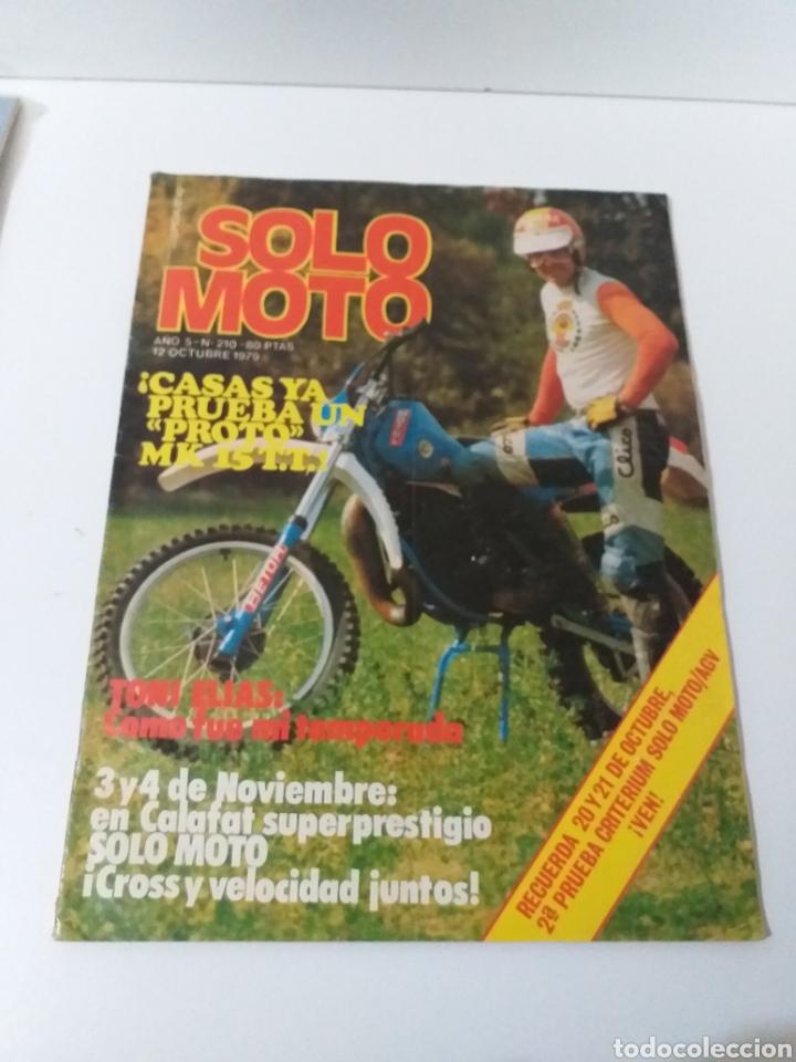 REVISTA SOLO MOTO AÑO 1979 N°. 210 (Coches y Motocicletas - Revistas de Motos y Motocicletas)