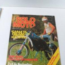 Coches y Motocicletas: REVISTA SOLO MOTO AÑO 1979 N°. 210. Lote 160727269