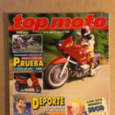 Coches y Motocicletas: TOP MOTO N° 8 (1993). KAWASAKI 650 KLX/R, HONDA NSR 125, BMW R 1100 RS, HONDA CR 165,... Lote 160759930