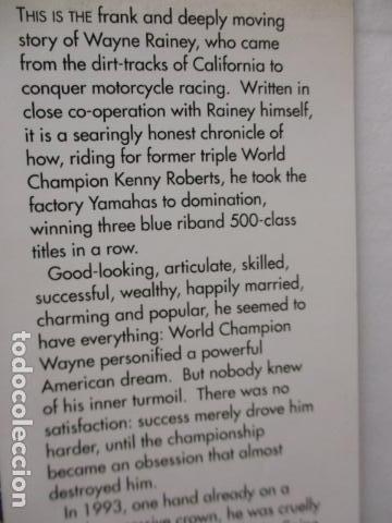 Coches y Motocicletas: LIBRO; WAYNE RAINEY - HIS OWN STORY - MICHAEL SCOTT (MUY BUEN ESTADO - EN INGLÉS) TAPA DURA. - Foto 5 - 160761678