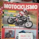 Coches y Motocicletas: REVISTA MOTOCICLISMO 1208 * SUZUKI BANDIT-400 + HUSABERG MC 350 + KAWASAKI ZEPHYR 750 * 62. Lote 160968870