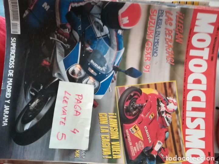 REVISTA MOTOCICLISMO 1184 * KAWASAKI ZXR + SUZUKI GSXR 91 + YAMAHA SR 250 * 62 (Coches y Motocicletas - Revistas de Motos y Motocicletas)