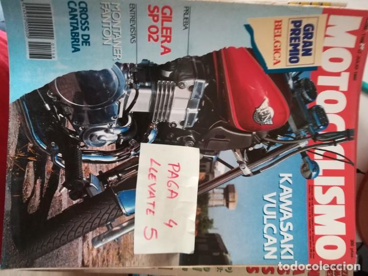REVISTA MOTOCICLISMO 1168 * KAWASAKI VULCAN + GILERA SP 02 + SUZUKI CROSS 91 * 62 (Coches y Motocicletas - Revistas de Motos y Motocicletas)