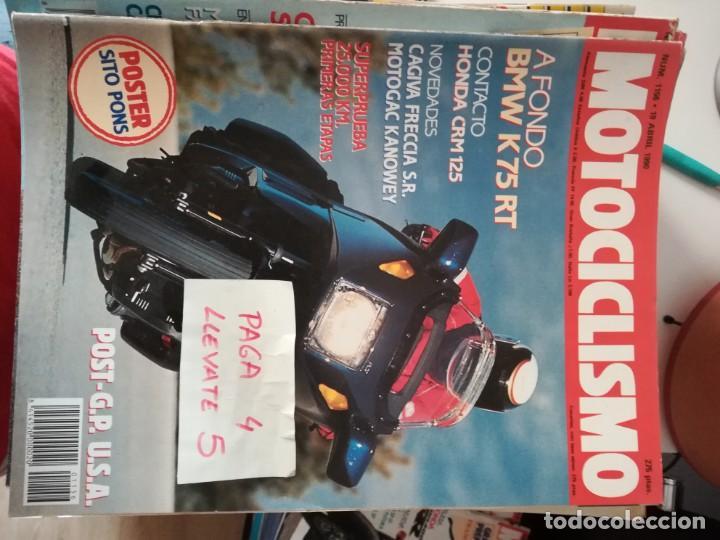 REVISTA MOTOCICLISMO 1156 * BMW K75 RT + HONDA CRM 125 + CAGIVA FRECCIA S.R. * 62 (Coches y Motocicletas - Revistas de Motos y Motocicletas)