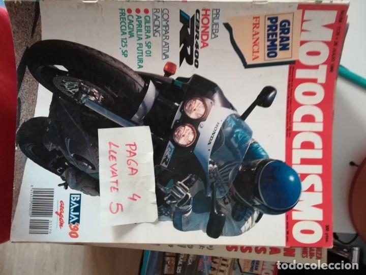 MOTOCICLISMO 1170 * HONDA CBR 400 RR + GILERA SP 01 + APRILIA FUTURA + CAGIVA FRECCIA 125 SP * 62 (Coches y Motocicletas - Revistas de Motos y Motocicletas)