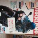 Coches y Motocicletas: MOTOCICLISMO 1170 * HONDA CBR 400 RR + GILERA SP 01 + APRILIA FUTURA + CAGIVA FRECCIA 125 SP * 62. Lote 160970146
