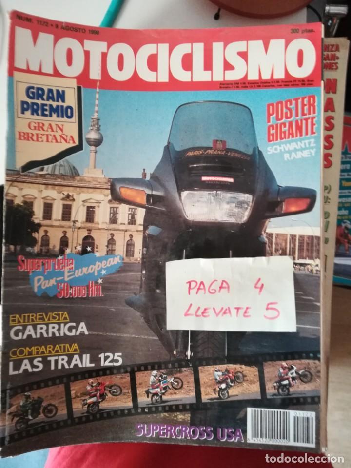 REVISTA MOTOCICLISMO 1172 * HONDA PAN - EUROPEAN + COMPRATIVA TRAIL 125 * 62 (Coches y Motocicletas - Revistas de Motos y Motocicletas)