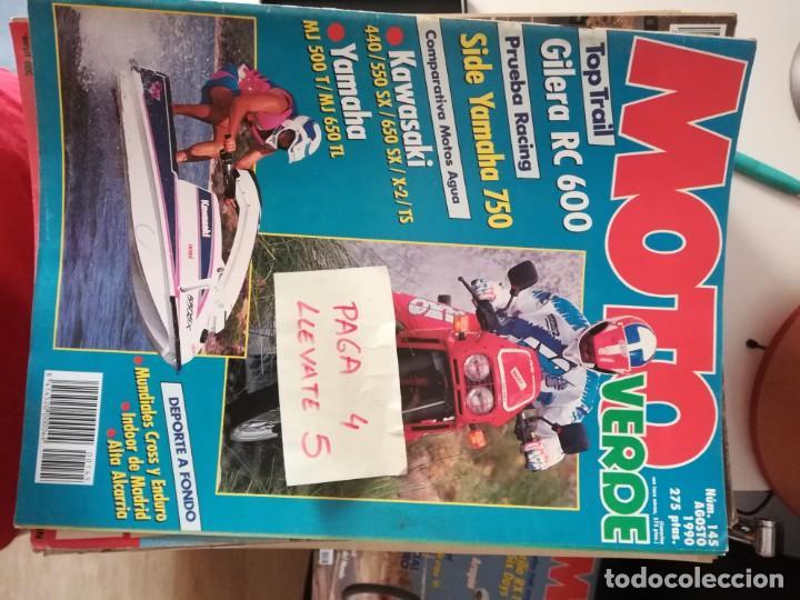 REVISTA MOTO VERDE 145 * GILERA RC 600 + YAMAHA 750 + KAWASAKI 440/550SX/650 SX/X-2/TS * 62 (Coches y Motocicletas - Revistas de Motos y Motocicletas)
