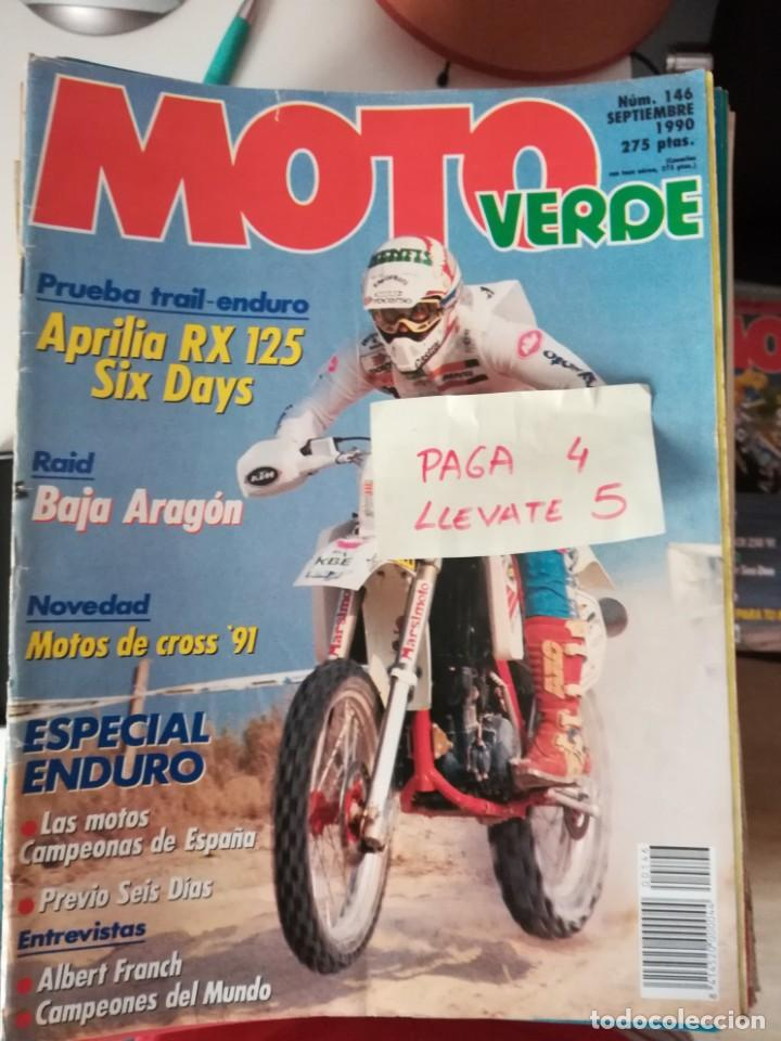 REVISTA MOTO VERDE 146 * APRILIA RX 125 + MOTOS DE CROSS 91 * 62 (Coches y Motocicletas - Revistas de Motos y Motocicletas)