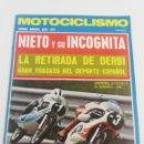 Coches y Motocicletas: REVISTA MOTOCICLISMO SEGUNDA QUINCENA MAYO 1973 VER SUMARIO POSTER DAYTONA.. Lote 161139302