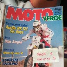 Coches y Motocicletas - revista moto verde 146 * aprilia rx 125 + motos de cross 91 * 62 - 161215794