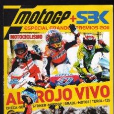 Coches y Motocicletas: REVISTA MOTOCICLISMO Nº 24 - ESPECIAL GRANDES PREMIOS 2011 MOTOGP Y SBK - . Lote 161570230