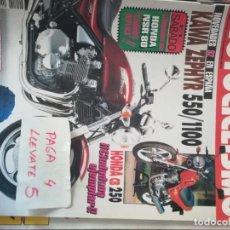 Coches y Motocicletas: REVISTA MOTOCICLISMO 1244 * KAWASAKI ZEPHYR 550 / 1100 + HONDA CB 250 + HONDA NSR 80 * 63. Lote 161741398