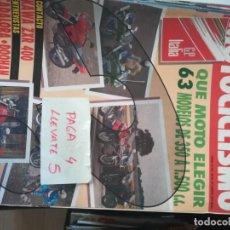 Coches y Motocicletas: REVISTA MOTOCICLISMO 1213 * KAWASAKI ZXR 400 + QUE MOTO ELEGIR MODELOS DE 350 A 1500 * 63. Lote 161742350
