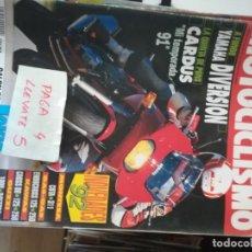 Coches y Motocicletas: REVISTA MOTOCICLISMO 1236 * YAMAHA DIVERSION + MONTESA COTA 311 + GUZZI 1000 DAYTONA * 63. Lote 161743362