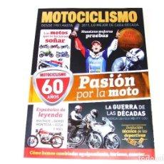 Coches y Motocicletas: MOTOCICLISMO EXTRA 60 AÑOS AÑO 2011. Lote 162452674