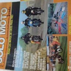 Coches y Motocicletas: REVISTA SOLOMOTO DEL AÑO 1984. Lote 162501046