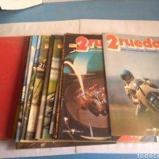 Coches y Motocicletas: 2 RUEDAS GRAN ENCICLOPEDIA ILUSTRADA DE LA MOTO, AÑOS 80. Lote 162546716