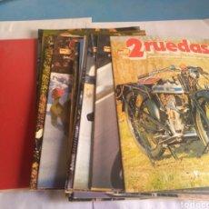 Coches y Motocicletas: 2 RUEDAS GRAN ENCICLOPEDIA DE LA MOTO, AÑOS 80. Lote 162549100
